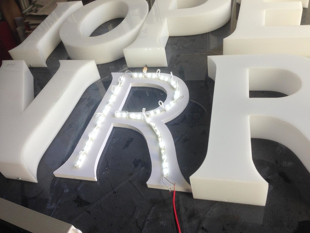 Modules LED for designers and sign makers