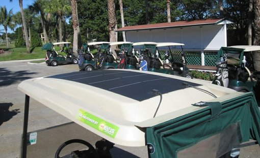 Flexible Solar Panels for golf carts