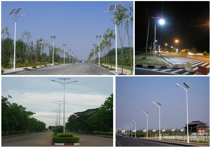 Solar powered street lights available from Eco Industrial Supplies