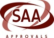 SAA approval logo