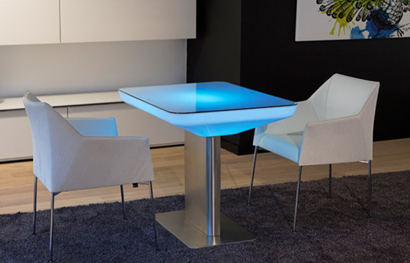 LED tables for resteraunts, bars, clubs