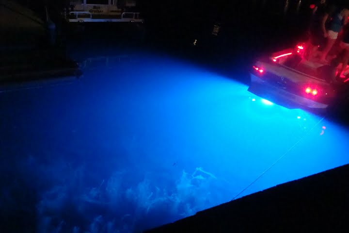 Underwater IP68 LED Boating lights for attracting fish