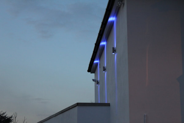 Buy our outdoor wall lights are built utilizing heavy pin GU10 LED globes from Eco Industrial Supplies