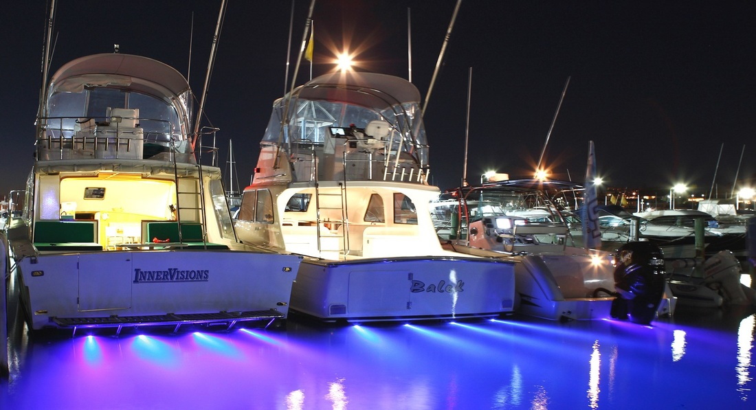 Buy Underwater Boating and Yachting LED Lighting Titanium Alloy