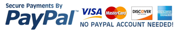 Secure payments via pay pal when you shop from Eco Industrial Supplies
