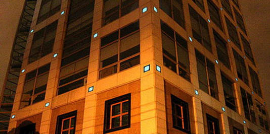 Our solar powered paver lights are suitable for decorative facade lighting