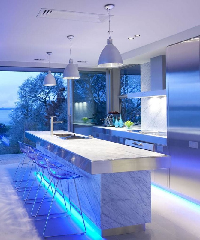 LED strip lights kitchen available from Eco Industrial Supplies