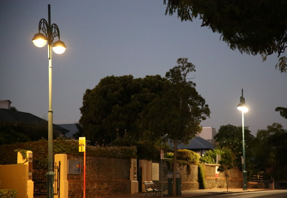 Our EIS Freeway LED Retro Fit Street Light ideal for street light bulb replacement in heritage lamp post street light fittings.