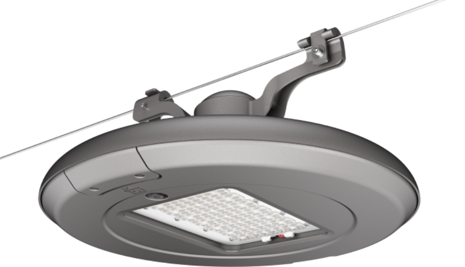 Suspended L Series Street Light for mall lighting, and city street lighting