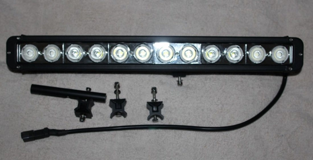 Buy the Light Bars Robe Series 9-70 Volt DC with 10 Watt Cree LED`sonline from Eco Industrial Supplies
