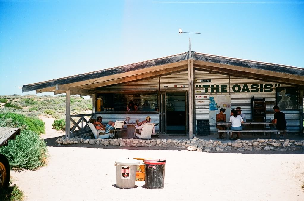 The Oasis at Cactus beach long gone