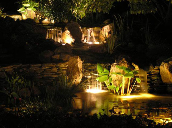 buy online led underwater ip68 rated LED Lighting for gardens and ponds
