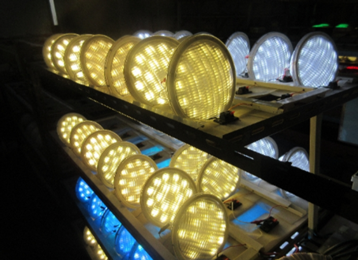 Pool light replacement with retrofit LED pool lights available from Eco Industrial Supplies