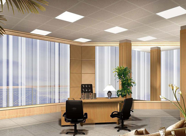 LED panel lights commercial grade for offices