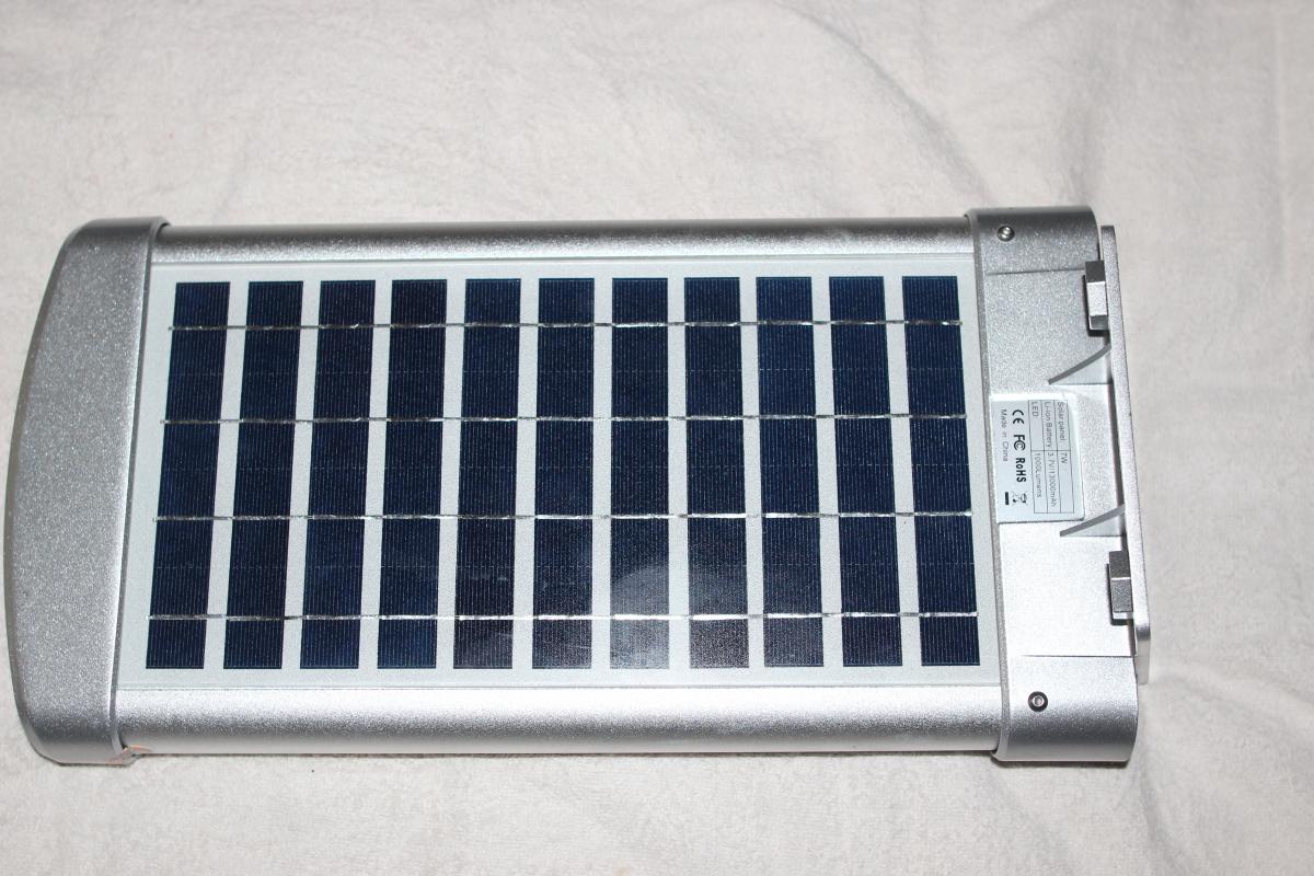 Street Or Courtyard Light Solar Powered Ssl 01 1000 Lumen