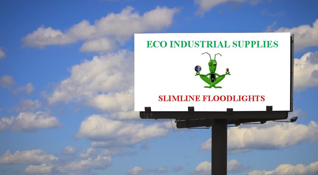 Eco Industrial Supplies promotional bill board lighting slimline LED